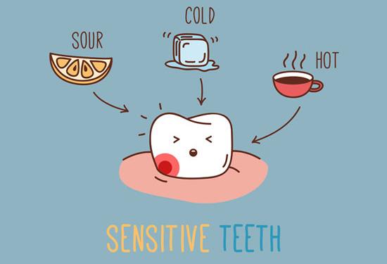 حساسیت دندانی,دکتر کبریایی,دندانپزشکی کودکان و نوجوانان