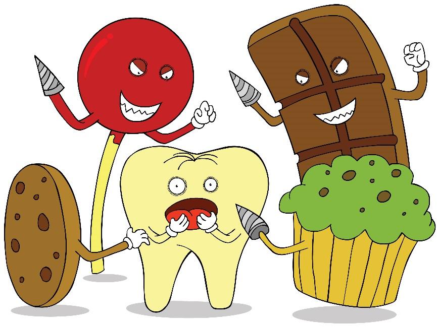 food bad for teethدشمن دندان و عاداتی که دندانهایتان را نابود میکنند