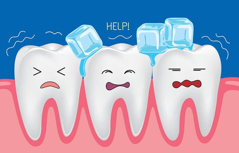 علل ایجاد حساسیت دندان ,حساسیت دندان بعد از سفید کردن,tooth sensitivity